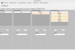 Caudex Protect 4 - Administration/Datenmanagement - Eingabehilfen